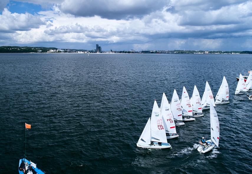 Volvo Gdynia Sailing Days – klasa 470 rozpoczęła walkę o medale MP