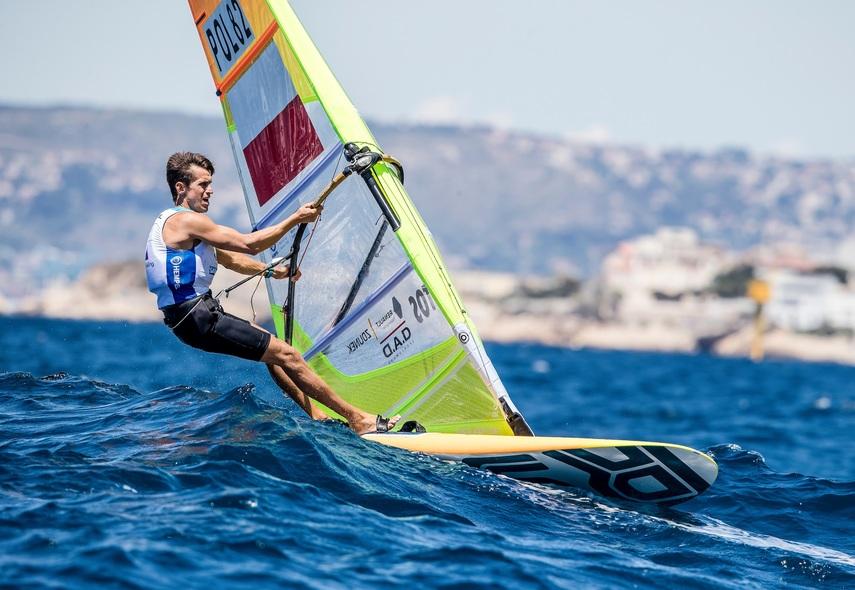 Piotr Myszka (fot. Sailing Energy / World Sailing)